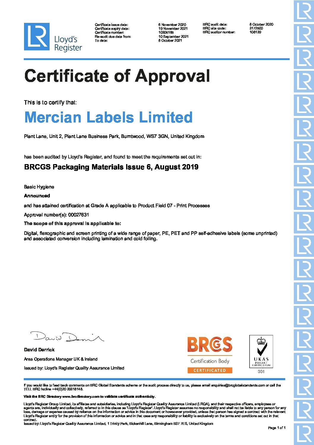 00027631 BRCIOP Mercian UKAS pdf