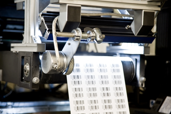 100 of barcodes are verified to ANSI grade on the press immediately after printed