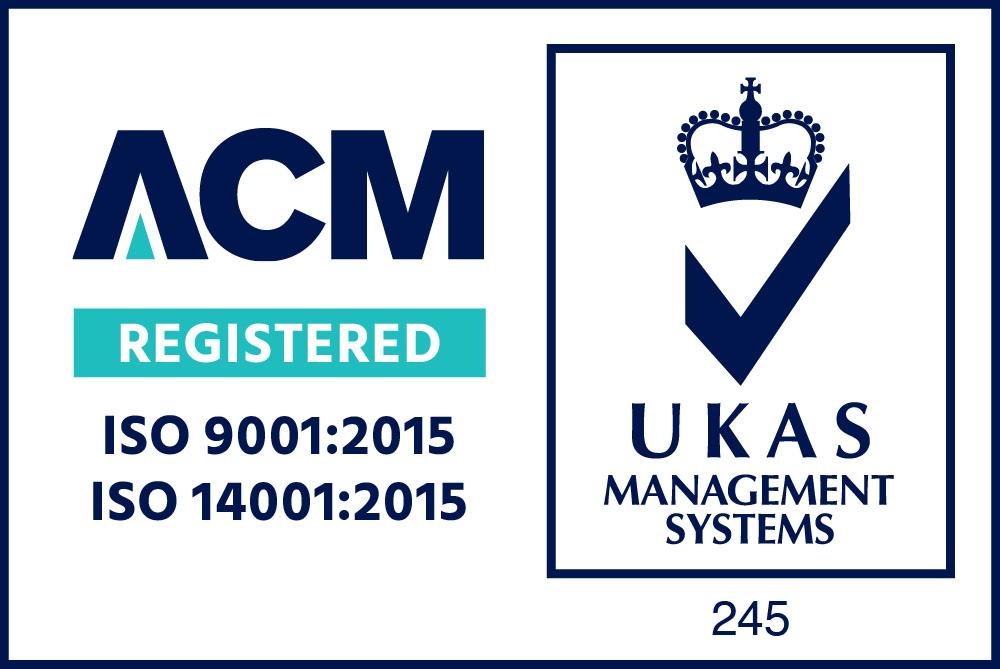 9001 14001 ACM UKAS Colour